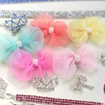 Dreamy Chiffon & Pearl Hair Bling in 5 Colors!