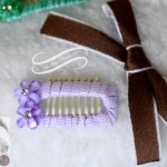 Hibiscus Bling Comb Clip