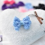 """2"""" LACEY ROSEY POSEY Bow Clip"""