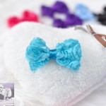 "3"" LACEY ROSEY POSEY Bow Clip"