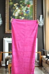 Yoga Towel Mat is MUCH Longer then my GTGT BLUE
